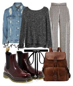 """""""Winter outfit #45"""" by guusjelovesfashion on Polyvore featuring mode, Topshop, Etro, Gap, Dr. Martens en Joomi Lim"""