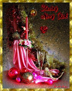 ivulinka3 - Fotoalbum - Silvestr,Nový rok - Silvestr,Nový rok 1 Merry Christmas To You, Christmas And New Year, Vintage Christmas, Christmas Tree, Christmas Ornaments, Christmas Candle, Holiday Wallpaper, Free Photography, Wallpaper Free Download