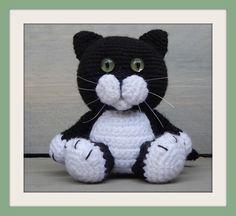 Cute cat   Amigurumi crochet   Haken