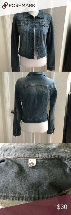 "BP Classic Jean Jacket Sz Med Classic Jean Jacket Regular fit Length 18""   Shoulder 47da15457f85"