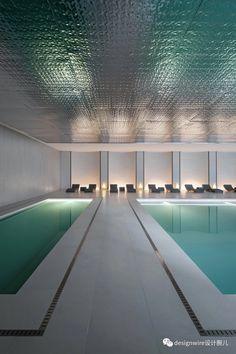 Outdoor Cafe, Outdoor Decor, Resort Interior, Cafe Interior Design, Health Club, Indoor Pools, Pool Designs, Ceiling Design, Landscape Design