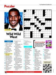 People Magazine Crosswords | I Am Krsitin