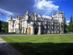 Balmoral Castle. The Queen's Country Estate. Originally built for Queen Victoria.  We saw Prince William drive by us on our way up the driveway!