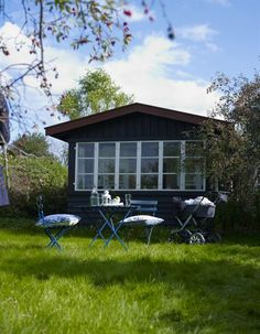 Making the most of a summer house