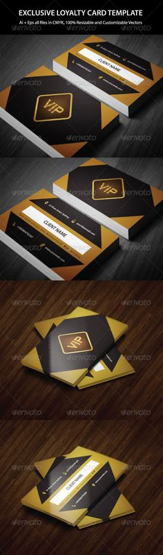 VIP Club Membership Card Fonts, Print templates and Vip card - printable membership cards