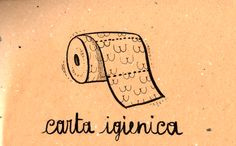 Learning Italian Language ~  Carta igienica (toilet paper) IFHN