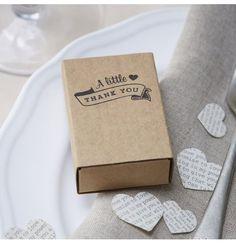 10 boîtes cadeaux invités pour mariage #hollyparty