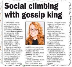 Dannii Minogue's cousin quite the PR star   Crikey