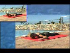 Pilates Parte 3 - Sin aparatos - Español de España - YouTube