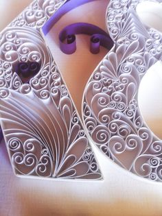 Wedding Monogram Paper Quilling Art by QuillingbyCourtney on Etsy