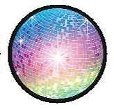 30 Disco Mirror Ball Edible Icing Cupcake Cake Topper Decoration Images Party | eBay