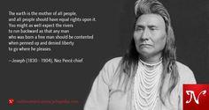 Joseph  - Nez Percé chief