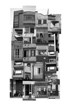 Leticia Lampert. (de)construction #4. fotografia e collage. 2008