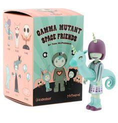 Rivet - Gamma Mutant Space Friends - Tara McPherson vinly toys