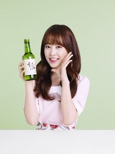 Park Bo Young becomes the model for soju brand 'Good Day' | allkpop.com