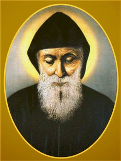 St Charbel Makhlouf, a Lebanese priest, monk and hermit of the Maronite Catholic Church. His feast day is July St Charbel, Daily Reminder, All Saints, Powerful Words, Priest, Mona Lisa, Prayers, Thankful, Dresses