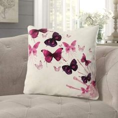 Pillow Room, Bed Pillows, Cushion Embroidery, Butterfly Pillow, Cushion Cover Designs, Sewing Pillows, Applique Pillows, Velvet Pillows, Throw Pillow Sets