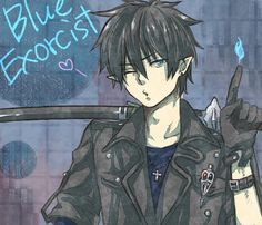 Okumura Rin - Ao no Exorcist / Blue Exorcist Ao No Exorcist, Blue Exorcist Anime, Blue Exorcist Funny, Hot Anime Guys, I Love Anime, Awesome Anime, Rin Okumura, Black Butler, Hetalia