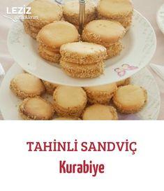 Tahinli Sandviç Kurabiye