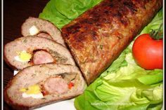 Rulada de carne tocata Carne Picada, Pastry Cake, Meatloaf, Cookie Recipes, Food To Make, Bacon, Grilling, Food And Drink, Cooking