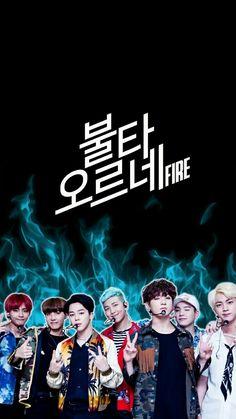 BTS / Fire / Wallpaper