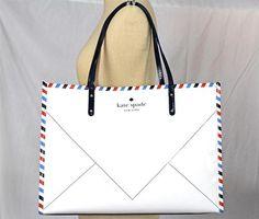 need this bag for summer from ShopDotStyle! http://www.ebay.com/itm/KATE-SPADE-Par-Avion-Joseph-TOTE-Shopper-Bag-Shoulder-Purse-NWT-/111029397029?pt=US_CSA_WH_Handbags=item19d9de2625