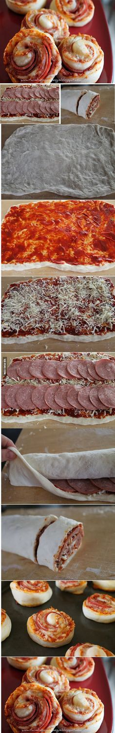 DIY Delicious Pizza Buns: making this for my bestfriend because he loves pizza