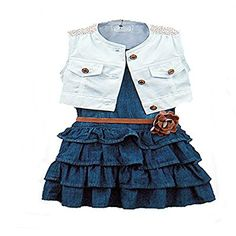 BAOBAOLAI Baby Girl Clothes Floral Print Ruffles Romper Summer Clothes with Headband
