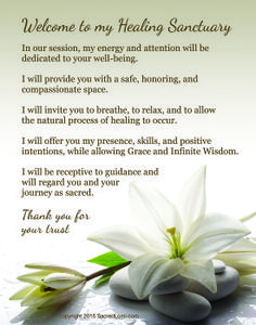 White Lily, Serene Drops: Sacred words carry the energy and vibration of sacred healing. Share these words with your clients to invite them into your healing sanctuary. Massage Room Decor, Massage Therapy Rooms, Essential Oil For Hemorrhoids, Essential Oils, Reiki Symbols Meaning, Lomi Lomi, Massage Marketing, Reiki Room, Tips