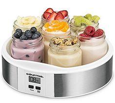 Greek Yogurt Maker Homemade Dessert Electric Digital Machine 7 Jars Recipe Book #KitchenDining