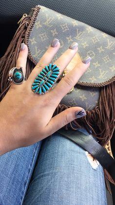 Cactus nails, western chic nails