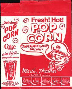 '70s-Era Popcorn Box | Flickr - Photo Sharing!
