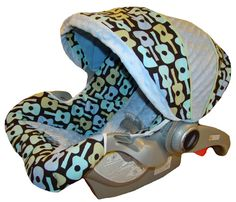 Infant Car Seat Replacement Cover for Graco Snugride and Graco Snugride 32. $89.00, via Etsy.
