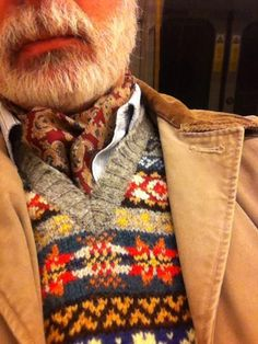 fair isle sweater tweed run - Google Search