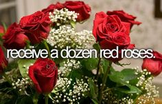 bucketlist, boyfriend, valentine day, dream come true, white roses