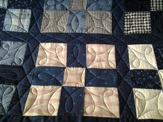 Sew-n-Sew Quilting: On the machine....