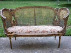 French settee.