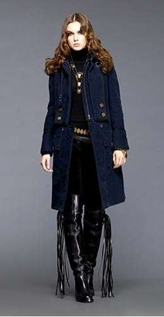 Gucci for Fall/Winter  2008 Available Pin from Miss.  Now #velvet #fashion trendhunter.com