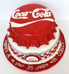 Coca ~ Cola Cake. I want one of these!!