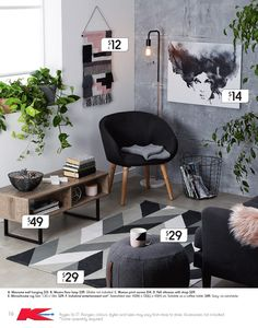 Kmart's latest homewares collection hits stores today - The Interiors Addict Apartment Decorating On A Budget, Diy Home Decor On A Budget, Decorating Rooms, Rental Decorating, Interior Design Living Room, Living Room Decor, Bedroom Decor, Living Rooms, Kitchen Interior