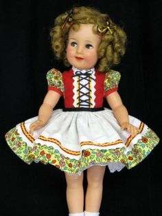Shirley Temple doll cloths on Pinterest   Shirley Temples ...