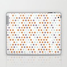 Pastel confetti Laptop & iPad Skin by Toodles Noodles - $25.00