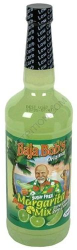 Baja Bob's Sugar Free Desert Key Lime Margarita Mix  - low carb - I use this to make Key Lime Cheesecake because lime juice has so many carbs and this has none, plus it's sweet! Try all of the Baja Bob's Sugar Free Drink Mixes