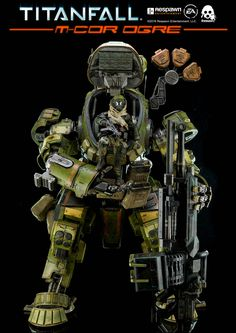 Nearly 20inches /50.8cm tall Titanfall M-COR Ogre #collectible will be available for pre-order at www.threezerostore.com on March 29th 9:00AM Hong Kong time for USD450/HKD3500 with Worldwide Shipping included in the price.  Check for more images and full details here: https://www.facebook.com/media/set/?set=a.1330446830314475.1073741951.697107020315129&type=1&l=b7a9dfdd20 #threezero #Titanfall #Respawn #gaming #videogame #actionfigure #toy #toys #collectible #toycollector #actionfigures