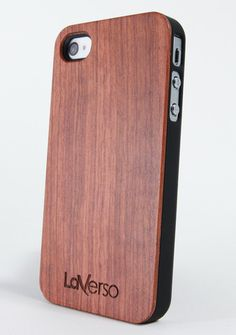 Rosewood Case for iPhone 4/4S - LaVerso - Premium wooden iPhone cases