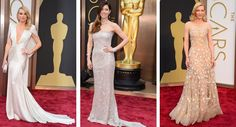 Wedding Fashion Inspiration from the 2014 Oscars Red Carpet on TahoeUnveiled.com | Kate Hudson, Jessica Biel, Cate Blanchett