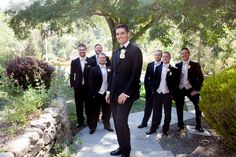Great photo of all the guys | Elliston Vineyards, Sunol CA | Connie Leal Photography