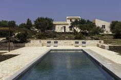 Baglio dei Carrubi - sea-view villa with pool near Scicli, Sicily