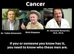 """I've long believed the way we """"cure"""" cancer is not the way we should be doing it. The most common side-effect of chemo/radiation (aside bring poisoned) is cancer. There has to be another option."""