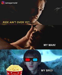 Bran is watching ...